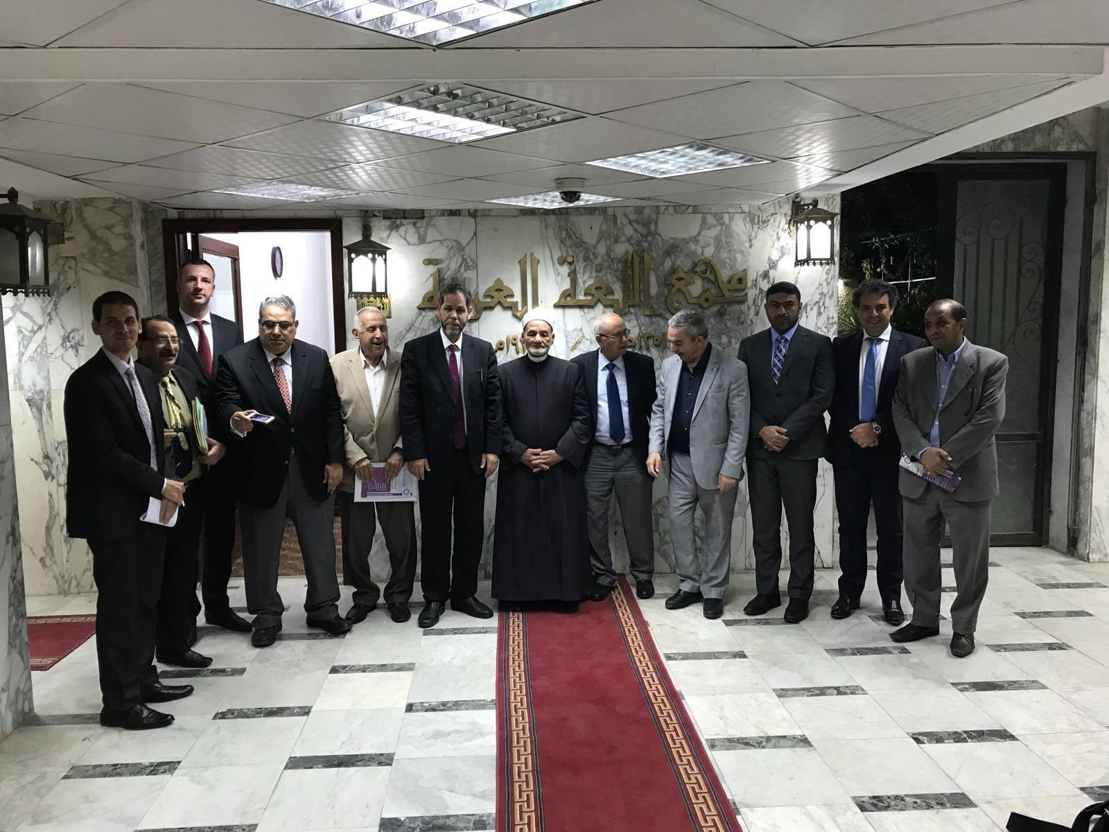 اجتماع اللجنة الخماسية للمعجم التاريخي للغة العربية