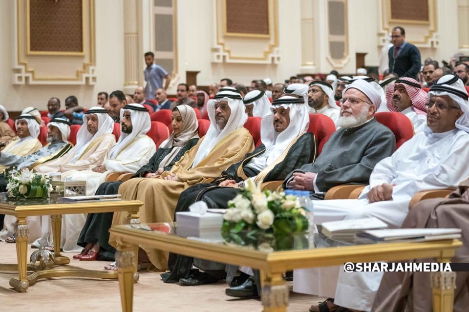 ولي عهد الشارقة يشهد افتتاح مؤتمر اللغة العربية الدولي الثالث بالشارقة 2018