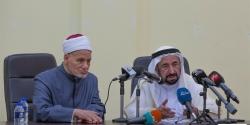 حاكم الشارقة في اجتماع مع اتحاد مجامع اللغة العربية في القاهرة