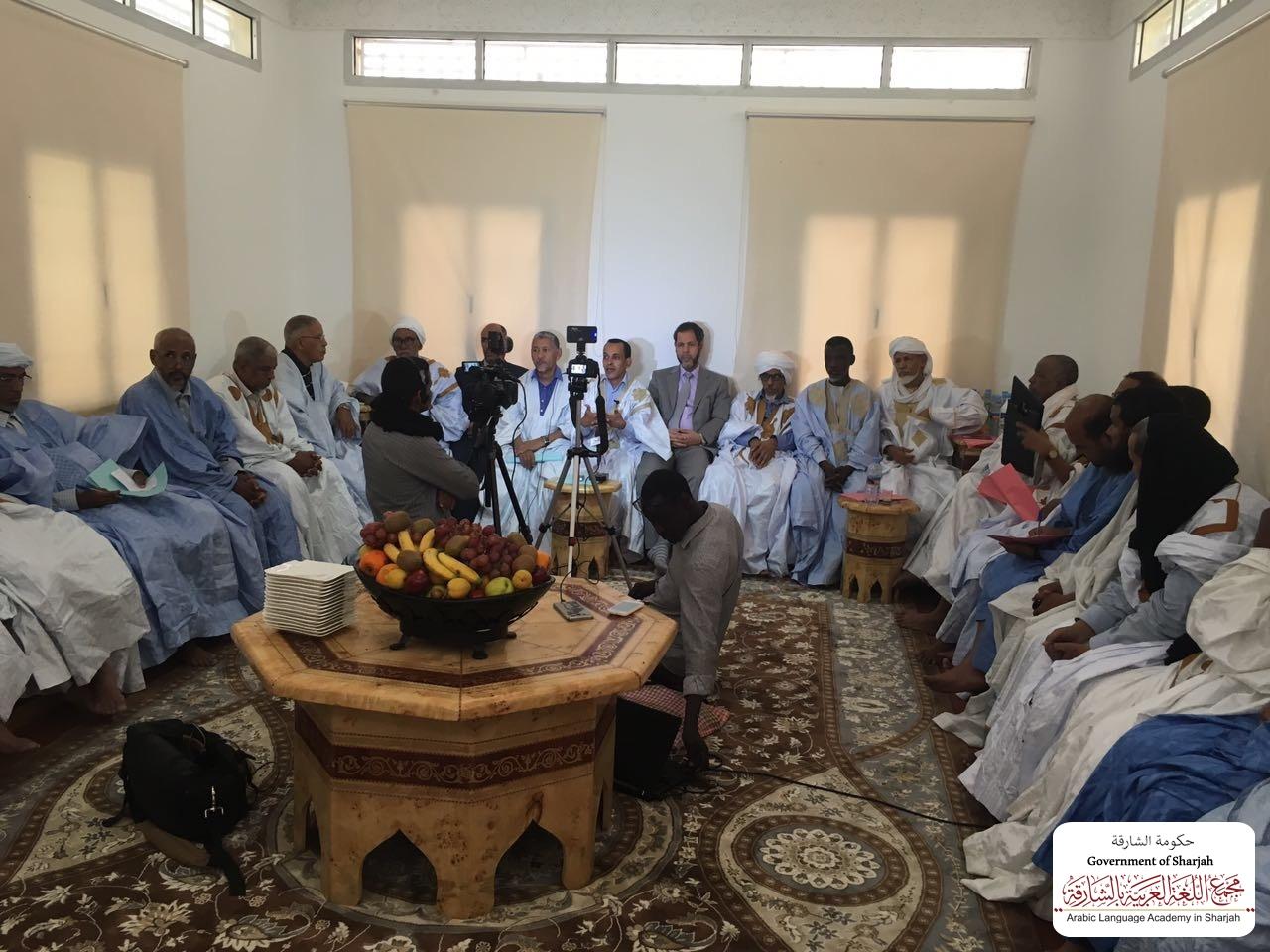 زيارة الأمين العام لموريتانيا تمهيدًا لتأسيس مجلس اللسان العربي بنواكشوط