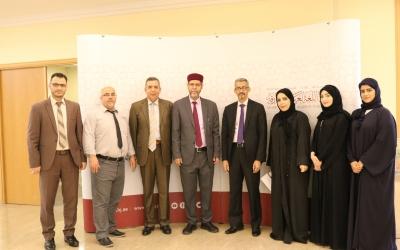 زيارة الدكتور محمد ولد اعمر مدير عام المنظمة العربية للتربية والثقافة والعلوم