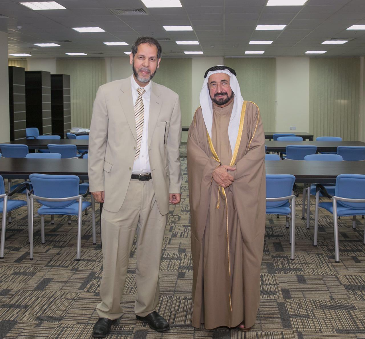 زيارات صاحب السمو سلطان القاسمي وتوجيهاته للمجمع