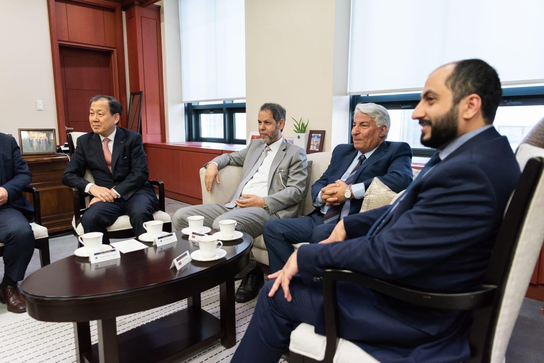 مجمع العربية يدعم لغة الضاد في جامعة هانكوك