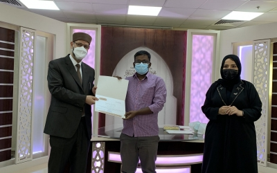 مركز اللّسان العربي يخرّج 16 منتسبًا من 8 دول